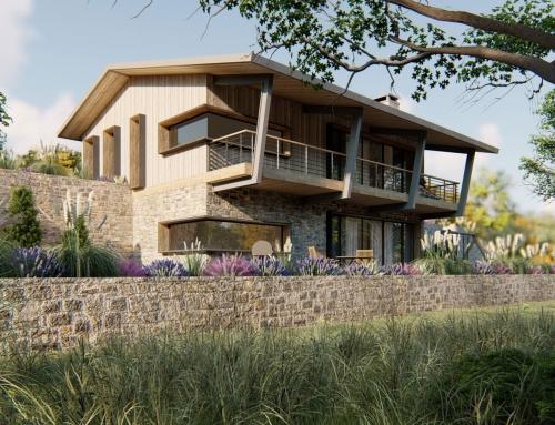 Privathaus mit Garten